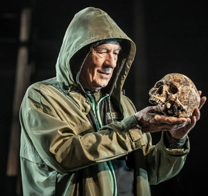 Ian McKellen as Hamlet at Theatre Royal Windsor