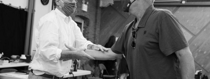 Aaron Sorkin and Jeff Daniels